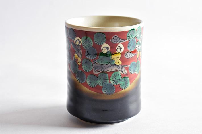 九谷焼 湯呑み 木米