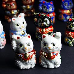 和座本舗のちび招き猫シリーズ